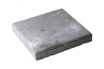 Daktegel 30x30x4.5cm grijs (beton)(p/st.)